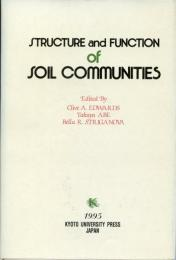 Structure and function of soil communities