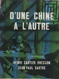 D'UNE CHINE A L'AUTRE    HENRI CARTIER BRESSON  アンリ・カルティエ=ブレッソン写真集