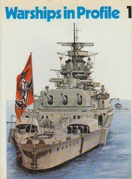 Warships in Profile  1ー3 全3冊