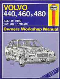 Volvo 440, 460 and 480(Owners Workshop Manual)/ボルボ