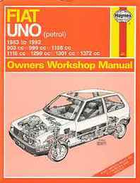 Fiat Uno(petrol)'83to'92(Haynes Service & Repair Manuals)/フィアット ウーノ