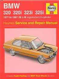 BMW 320 320i 323i 325i(Haynes Service & Repair Manuals)