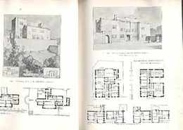 ACADEMY ARCHITECTURE AND ARCHITECTURAL REVIEW1908・1909年 2冊