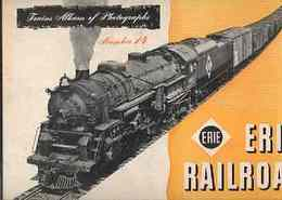 (trains album of railroad photographs 14)ERIE RAILROAD(エリー鉄道)
