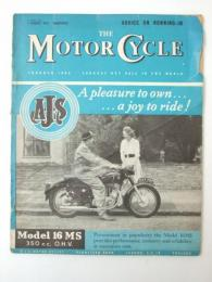 THE MOTOR CYCLE.1 August 1957