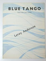 洋書楽譜 BLUE TANGO Duet For One Piano