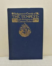 Tempest: Comedy of the Tempest シェイクスピア「テンペスト」 エドマンド・デュラック画 洋書