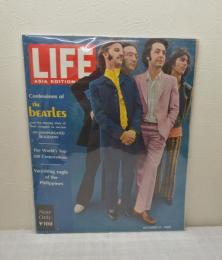 Life Magazine ASIA EDITION October 14 1968 Confession of THE BEATLES ビートルズ