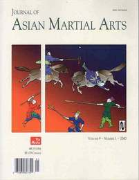Journal of Asian Martial Arts Vol9 No1 2000 アジアの武道洋雑誌