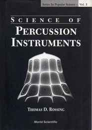 Science of Percussion Instruments 打楽器の科学洋書