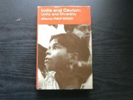 India and Ceylon : unity and diversity : a symposium