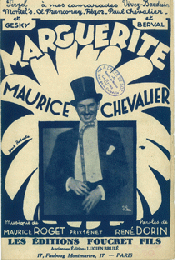 MAURICE CHEVALIER. Collection des 5 cahiers de la musique crees par M.Chevalier. (仏) モーリス・シュヴァリエ 歌唱楽譜コレクション  5点一括
