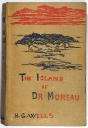 (英)モロー博士の島 初版  The Island of Doctor Moreau.  First Edition.