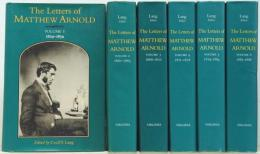 M.アーノルド書簡集  The Letters of Matthew Arnold. Victorian Literature and Culture Series.
