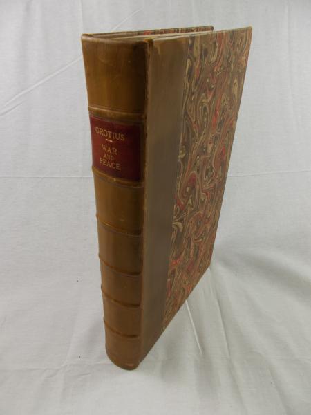 グロティウス 『戦争と平和の法』 英語訳第3版 フォリオ判 1738年 ロンドン
