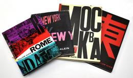 William Klein 『LIFE IS GOOD & GOOD FOR YOU IN NEW YORK』 『ROMA』 『MOSCOW』 『TOKIO』 ウィリアム・クライン写真集4冊セット