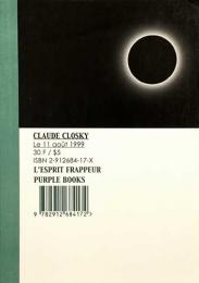 (仏文)クロード・クロスキー写真集 【Claude Closky L'ESPRIT FRAPPEUR Purple Books】