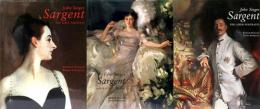 (英文)サージェント全絵画集 【 John Singer Sargent  Complete Paintings: Volume1,2,3 】