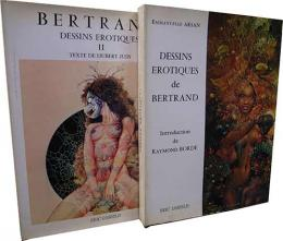Dessins Erotiques de Bertrand /I & II, two volume complete set.