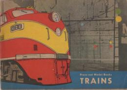 Press-Out Model Books: Trains