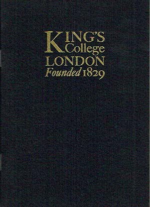 king s college london founded 1829 kitching alan caslon old face