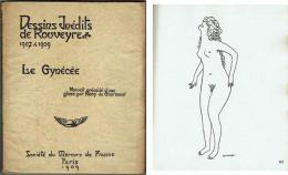 Le Gynecee, Dessins Inedits de Rouveyre 1907-1909