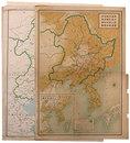 南満洲鉄道株式会社線路及委託経営鉄道線路略図(8舖一括)