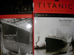 洋書 Titanic the Ship Magnificent volume One・Two 2冊セット