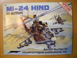 洋書 Mi-24 HIND in action №83