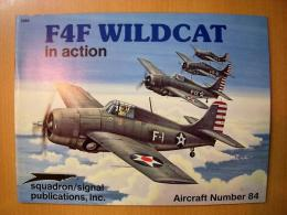 洋書 F4F WILDCAT in action №84