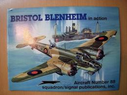 洋書 BRISTOL BLENHEIM in action №88