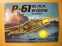 洋書 P-61 BLACK WIDOW in action №106