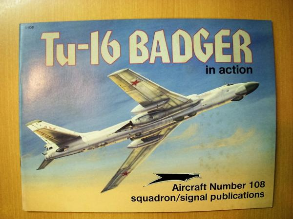洋書 Tu-16 BADGER in action №108