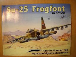 洋書 Su-25 Frogfoot in action №129