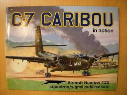 洋書 C-7 CARIBOU in action №132