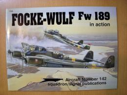 洋書 FOCKE-WULF Fw189 in action №142
