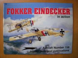 洋書 FOKKER EINDECKER in action №158