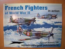洋書 French Fighters of World WarⅡ in action №180
