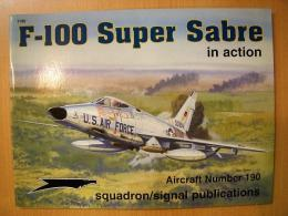 洋書 F-100 Super Sabre in action №190