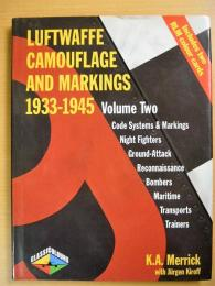 洋書 Luftwaffe Camouflage and Markings 1933-1945  Vol. 2