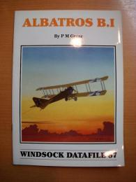 洋書 ALBATROS B.I  windsock datafile87