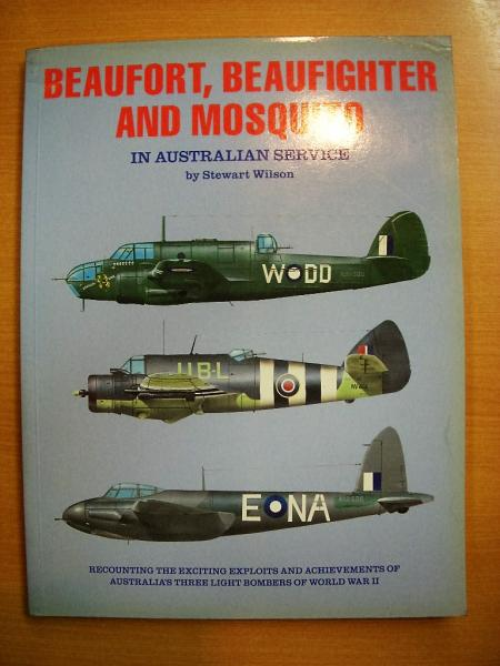 洋書 Beaufort Beaufighter and Mosquito in Australian Service
