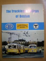 洋書 The Trackless Trolleys of Boston