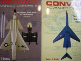 洋書 Convair Advanced Designs VolumeⅠ・Ⅱ 2冊セット