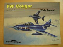 洋書 F9F Cougar  Walk Around