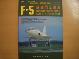 MILITARY SERIES NO.3 F-5 FREEDOM FIGHTER FAMILY Part1 T-38/F-5A/F-5B