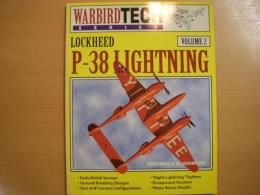 洋書 Warbird Tech Series2 Lockheed P-38 Lightning