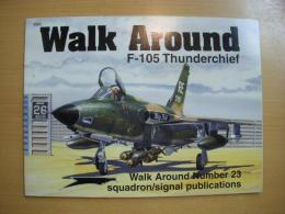 洋書 F-105 Thunderchief Walk Around23
