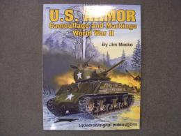 洋書 U.S. ARMOR Camouflage and markings World War II