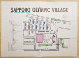 SAPPORO OLYMPIC VILLAGE GUIDE MAP